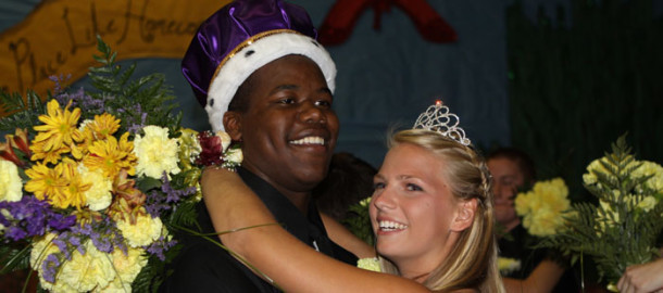 King and queen, Meet this year's homecoming royalty