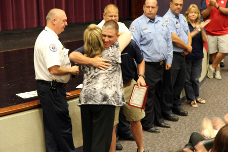 First responders recognition