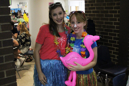 Tropical Tuesday: Katherine Miller and Grace Hammack