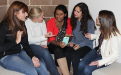 I always have the latest news on-hand thanks to news apps on my cell phone. Whenever I find an article of interest, I love collecting more opinions from my closest friends: Valerie Carrizales, Morgan Fryman, me, Chloe Lozano and Nicole Breer (12).
