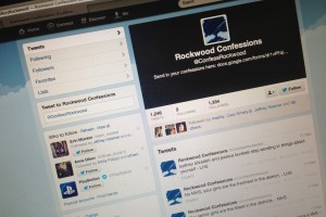 With 1,246 tweets, Rockwood Confessions has plenty to talk about. I'd like to point out that the account has 1,334 followers. They are 88 tweets away from having one tweet for every follower.