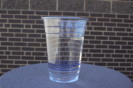 Drinking eight glasses of water should be a New Year's resolution for everyone going into 2014.