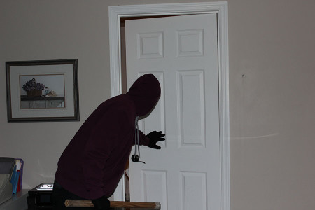 Someone breaking into my home is one of my worst fears. Photo illustration by: Natalie Hinds