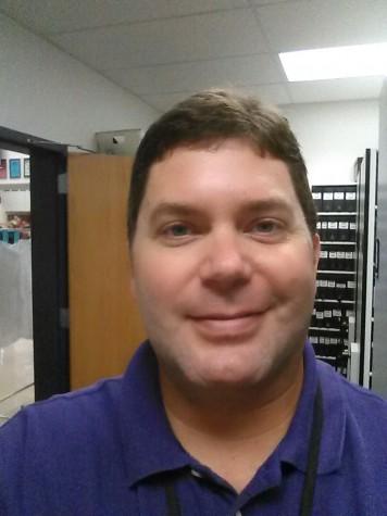Teacher selfie