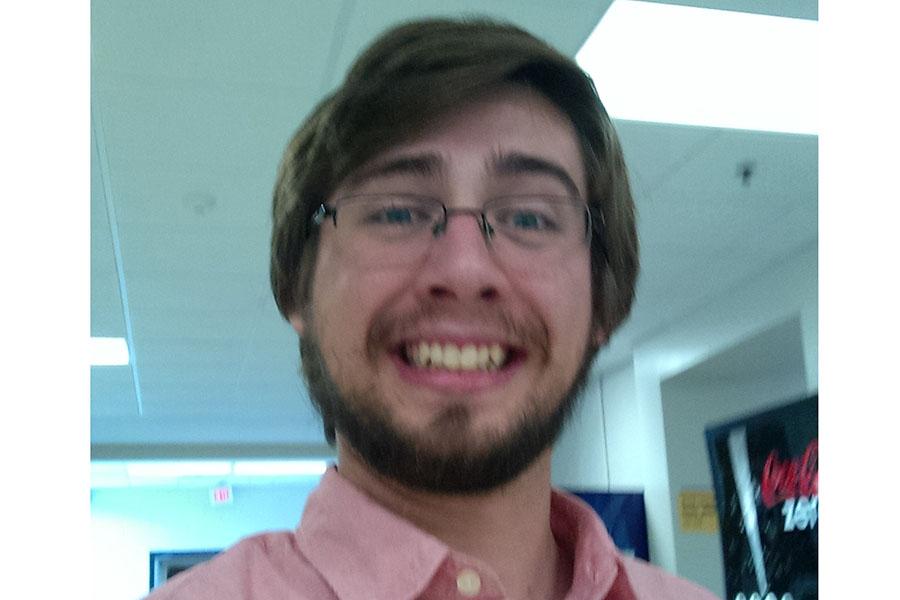 Mr. Rinehart takes a selfie.