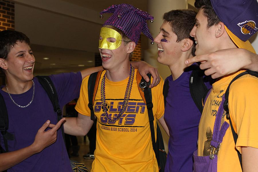Photo of the day: Friday purple and gold recap