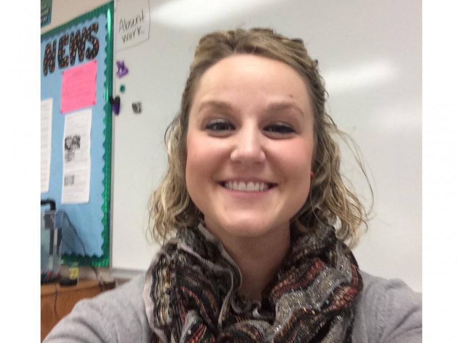 Ms. Cullen takes a selfie