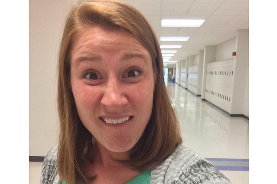 Ms. Cox takes a selfie