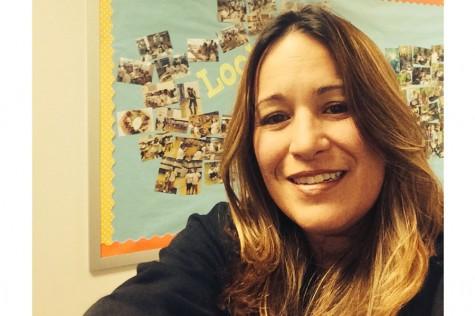 Mrs. Ramirez takes a selfie