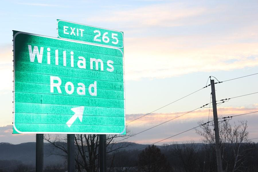 Williams+Rd+is+the+road+that+would+be+accessed+by+more+than+40+sand+and+gravel+dump+trucks+each+day.