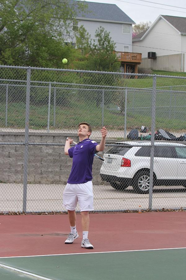 EF 4_13 boys jv tennis v ursline Hub