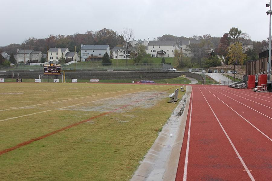 With PROP4, the track will improve and turf will be installed.