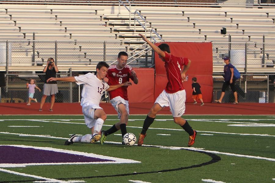 Boys Varsity Soccer VS Cor Jesu on  Sep. 10.