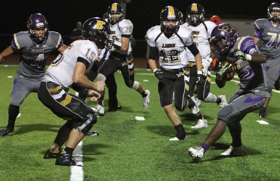EHS vs Fort Zumwalt East on Sep. 11.