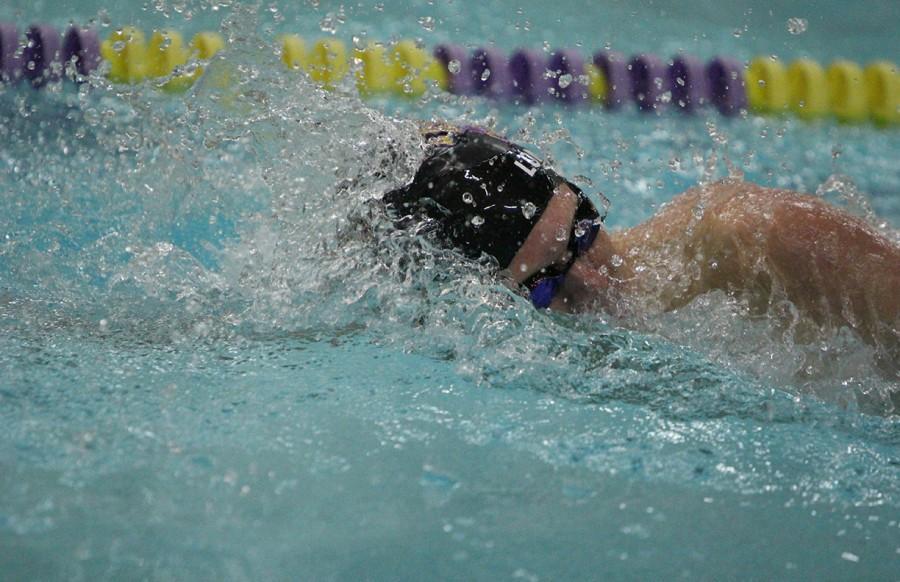 Varsity Swim against CBC on Aug. 25.