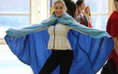 Mary K Chapman (10)  posing as Elsa from Disney's 'Frozen,' Sept. 30.