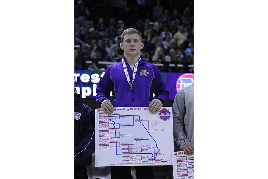 Alec Hagan,Class 4 District 1, 138 lb. State Champion
