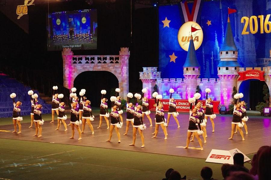 Golden Line performing at Nationals in Disney World, Jan. 29.