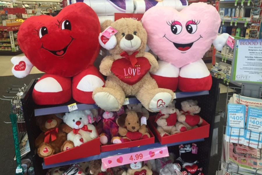 This is the first thing I saw when walking into Walgreens, Feb. 8.