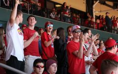 The senior class enjoyed a trip to the Cardinals game together, April 14.