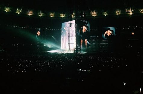 Beyoncé was larger than life during her performance at the Scottrade Center.