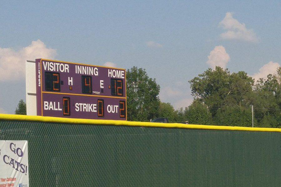 Eureka JV softball shuts out Lafayette 12-2 after a well played game, 8/29.