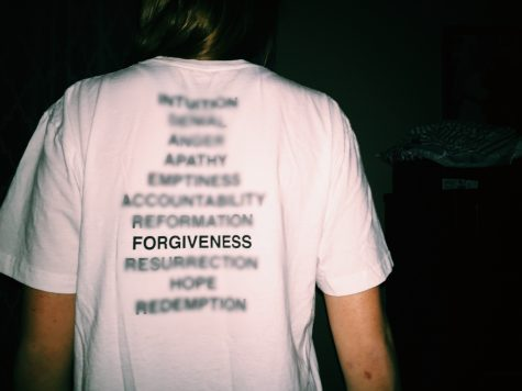 As a reminder to forgive, I wear my concert t-shirt from Beyoncé