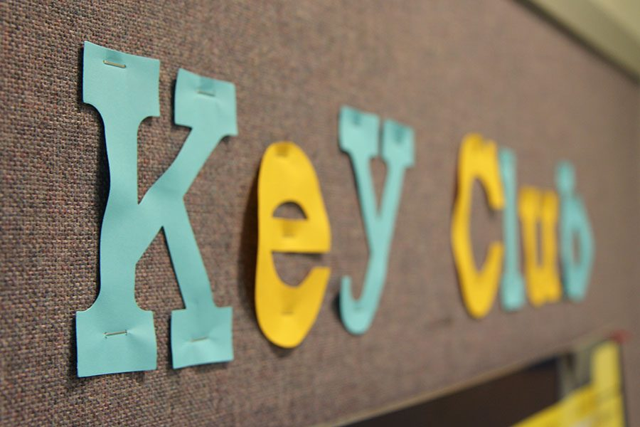 A leader's look: Key Club