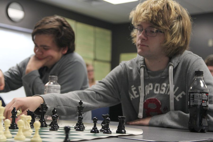 A leader's look: Chess Club