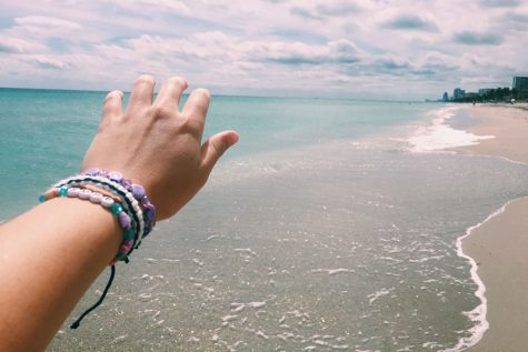 As I reach out my hand towards the salty, blue ocean on Hollywood Beach, Florida, I discover that there is a deeper meaning behind it. I live for adventure.