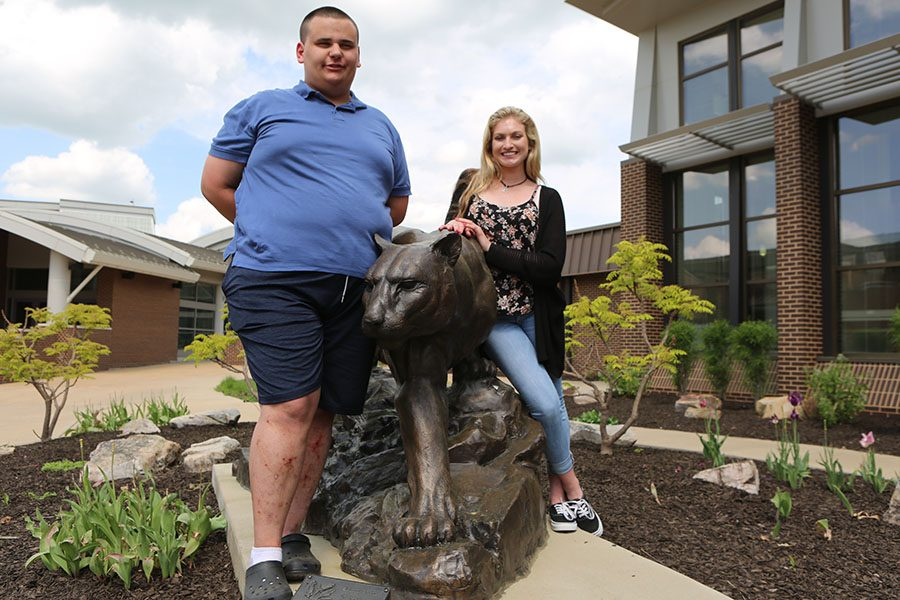 Gus Krause, Best Buddies amabassador, and Maddy Merrit, president, are just two of the many community members starting a new chapter of the international program at EHS.