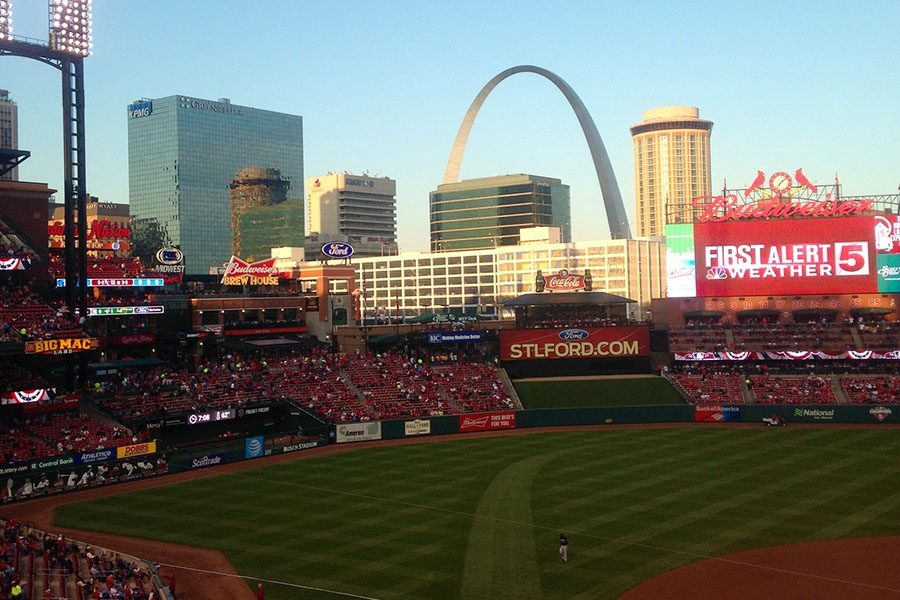 Busch+Stadium+is+just+one+of+the+many+entertainment+venues+in+the+city+that+attracts+people+from+across+the+country.