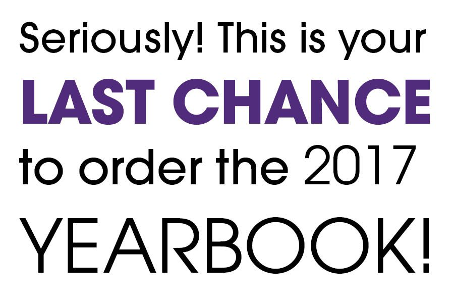 Have you bought your national-award winning yearbook?