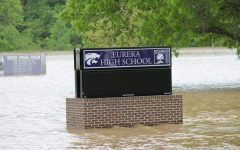 Rising flood waters, close the EHS and later the district, May 1. AP testing will resume, May 5, at the Annex regardless of the flooding at the high school.