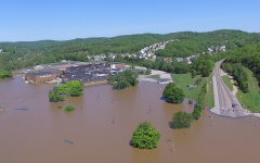 The rise in global warming causes increases in flash floods. The EHS community experienced the changes during the 2017 flood, May 3.