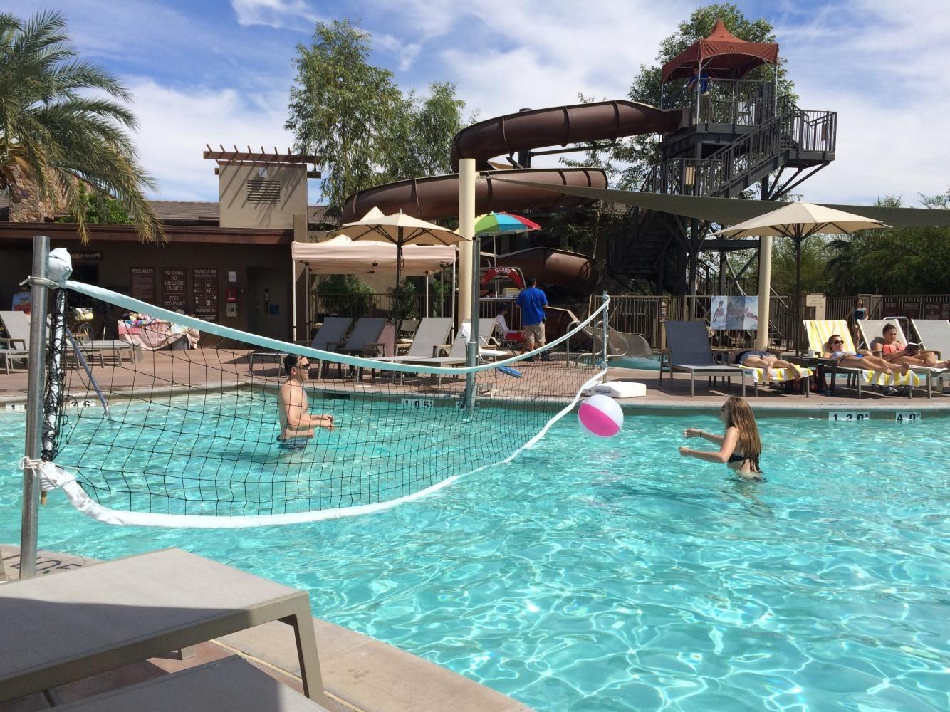 Summer fun in Palm Springs, California.