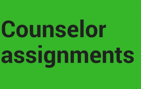 Counselor assignments
