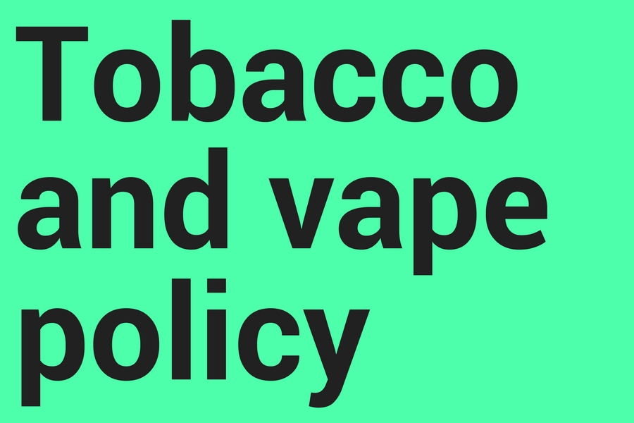 Tobacco+and+vape+policy