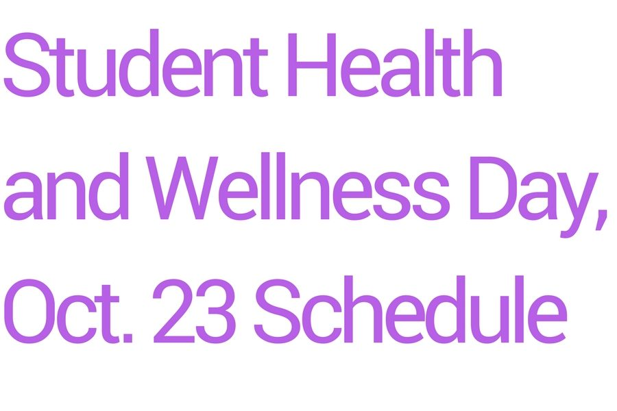 Student Wellness Day Conference Schedule