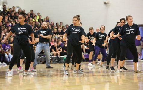 Teacher dance