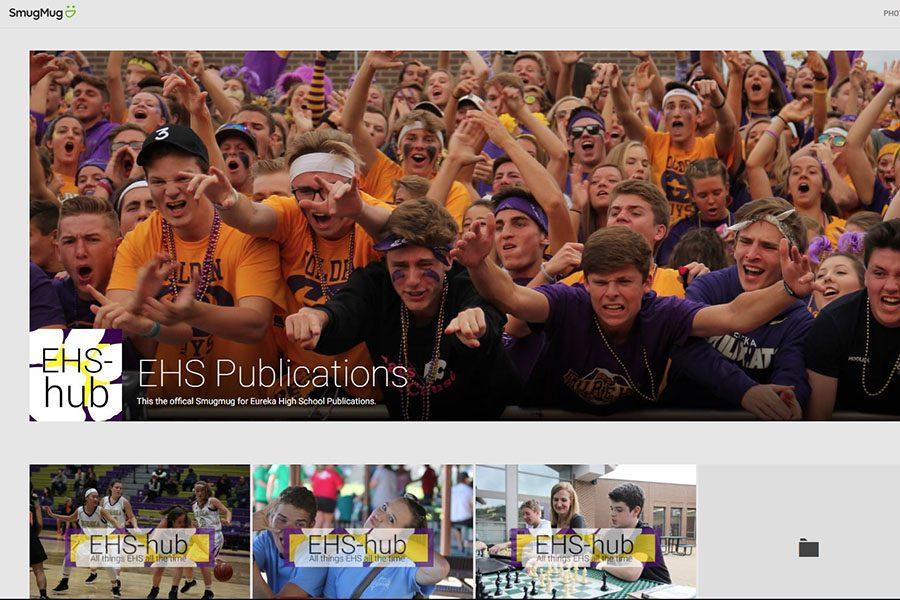 The EHS publications SmugMug home page.