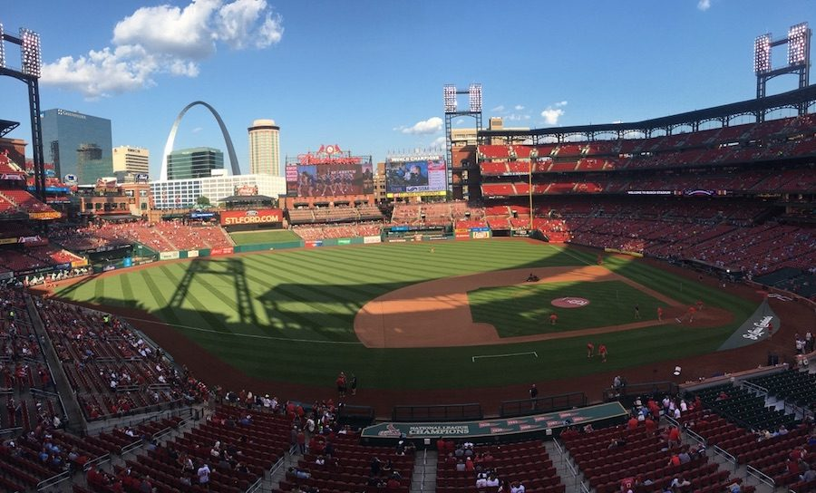 Fans+gather+at+Busch+Stadium+to+catch+a+Cardinals+game%2C+Sept.+9.+