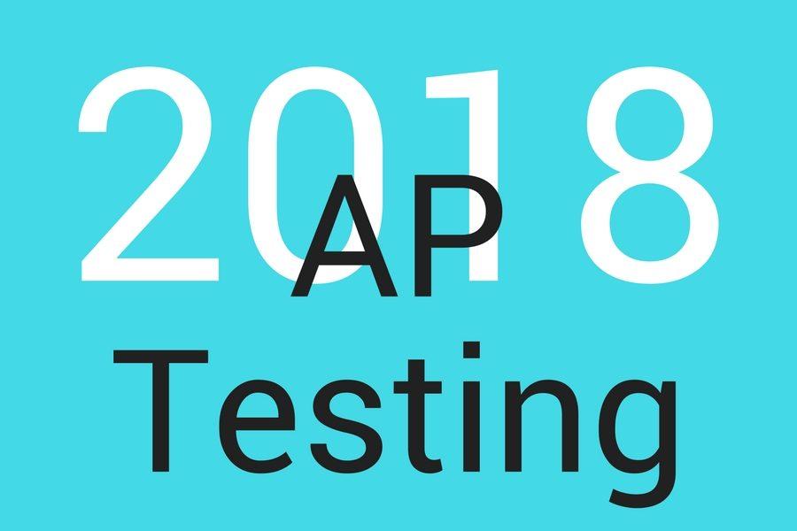 AP+Testing+will+begin%2C+Monday%2C+May+7.