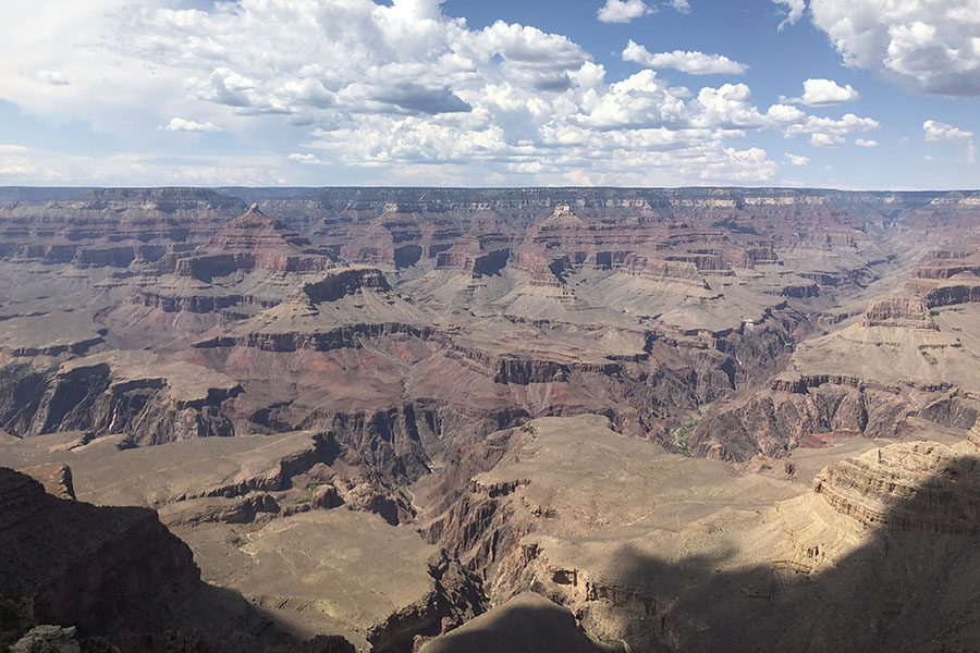 Joshua Marghertia (12) took a family trip with his brother Tyler Margherita (10) and his dad to New Mexico, Utah and Colorado during the summer. He snapped this photo of the Grand Canyon, July 8.