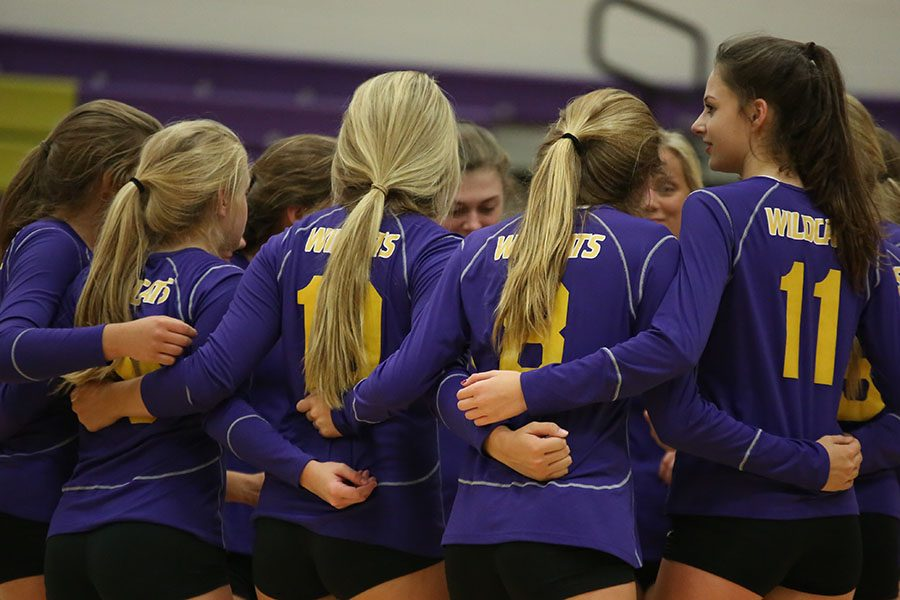 The Wildcats lost in three sets to  Christian High School during their home opener.
