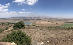Mount Vental in Israel overlooks Syria, a country ravaged by an ongoing civil war.