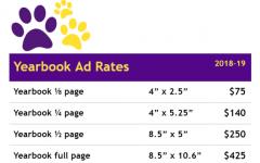 2019-20 Eurekana yearbook advertising