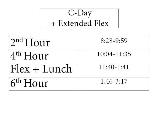C Day With Extended Flex