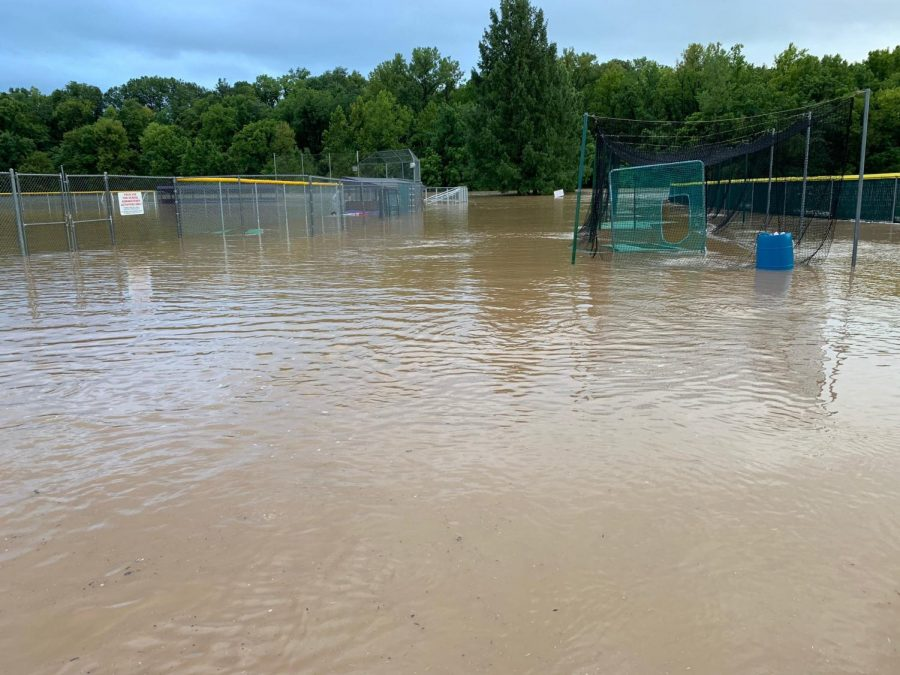 RSD closed the district because of flooding, Aug. 26.