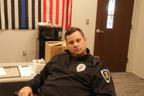 Brett Grittini is currently in his fourth year as the SRO at Eureka High School.